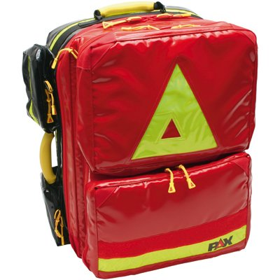 PAX Notfallrucksack First-Responder O2 DIN 13155, O2-Flasche und Druckminderer