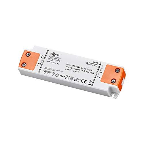 Goobay LED-Trafo 12 V (DC)/30 W Dimmbar,