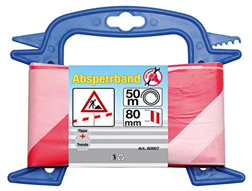 Kraftmann 80807 | Absperrband | 80 mm x 50 m