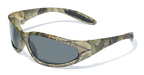 Global Vision Eyewear Forest 1Serie Sicherheit mit matt camo Muster Rahmen und Smoke Gläsern