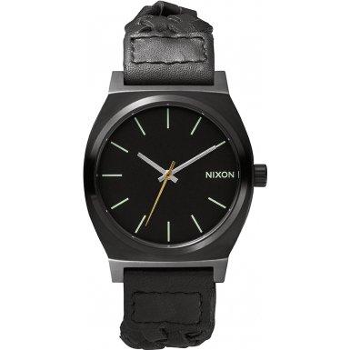 Nixon - A0451928-00 - Montre Homme - Quartz - Analogique - Bracelet cuir noir