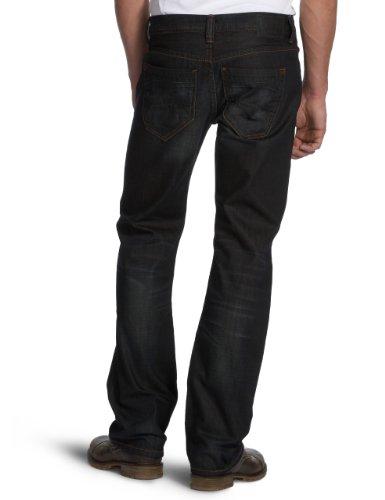 Cross Jeans Herren Jeans Normaler Bund E 160-132 Blau (Deep Blue Used)