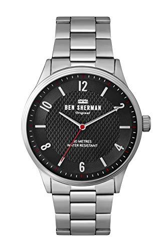Ben Sherman Hommes Analogique Quartz Montre avec Bracelet en Aluminium WB025SM