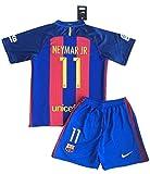 NEYMAR JR 11 Barcelona Soccer Jersey Home 2016/2017 Kid's Size XXL - 11-13 Years Old