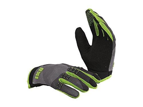 IXS Adulto Gloves X3.1da BC, Unisex, Gloves BC-X3.1, Nero/Verde, XXL