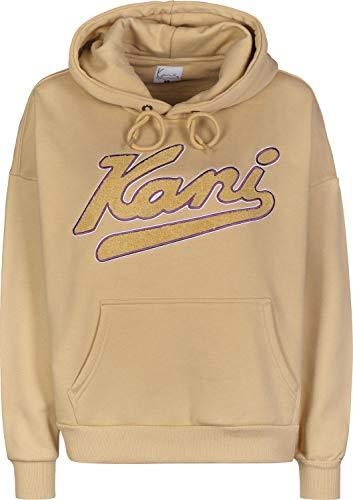 Karl Kani College W Hoodie Brown/Purple