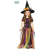Disfraz de Bruja Círculos de Colores para niña - 10-12 años