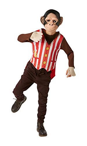 Rubie's Offizielles Mr Monkey Fancy Kleid Jungen Circus -
