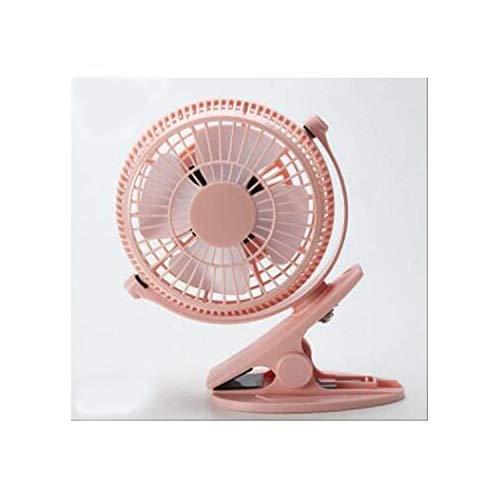 Belle Maison Natürlicher Wind Tragbare Kühlung Nur Mini-USB-Drehflügelventilator Schreibtisch UND Computertisch Elektrischer Ventilator...