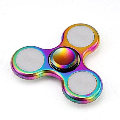 Preisvergleich Produktbild Saingace LED-Licht Fidget Hand Spinner Torqbar Finger Spielzeug EDC Focus Gyro