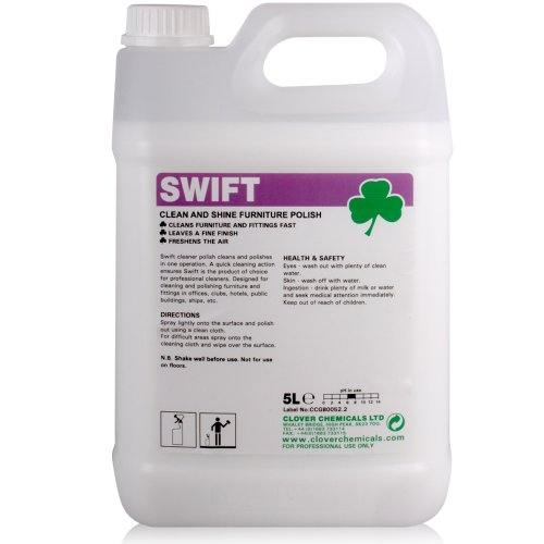 Swift Furniture Polish (5L) - Comes With TCH Anti-Bacterial Pen!