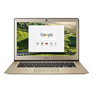 Acer Chromebook 14 CB3-431 - (Intel Celeron N3160, 4GB RAM, 32GB eMMC, 14 inch FHD Display, Google Chrome OS, Gold)