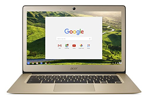 Acer Chromebook 14 CB3 -431 Intel Celeron Quad core Processor N3160 4GB RAM, eMMC 32GB, Luxury Gold (QWERTY)