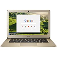 Acer Chromebook 14 CB3-431 - (Intel Celeron N3160, 4GB RAM, 32GB eMMC, 14 inch FHD Display, Google Chrome OS, Gold)