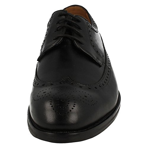 Clarks Coling Limit, Derby Homme Black Leather