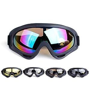 Imposes Unisex Windschutzscheibe Ski Snowboard Motorrad Radfahren Brille Berg Brille Reinigung