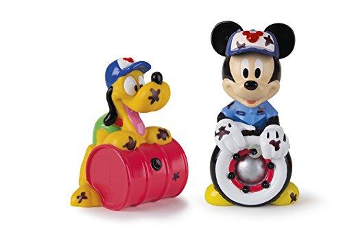 Mickey Mouse Mickey & Pluto, Set 2 Figuras de Baño, 14 cm Propio 182790