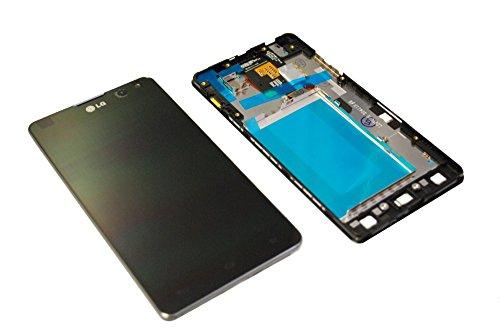 LG E975 Optimus G Black LCD Display Touchscreen Glas Rahmen Original black (Lg G E975)
