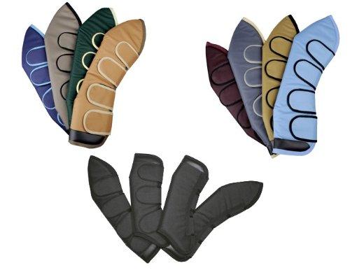 Transportgamaschen aus Polyester, braun, grün, rot, blau,schwarz,grau, beige,HKM