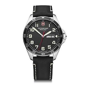 Victorinox Hombre Field Force – Reloj de Acero Inoxidable de Cuarzo