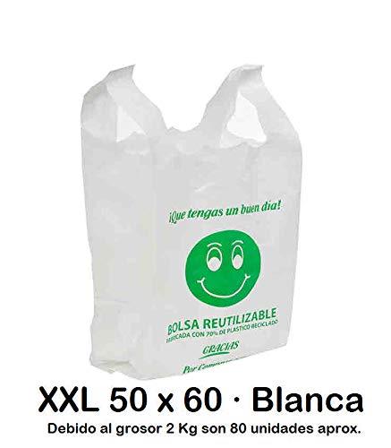 Bolsas de Plástico Tipo Camiseta Resistentes