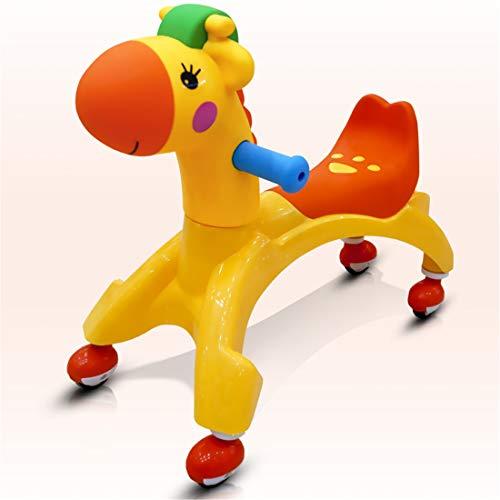 qwdf Schaukelpferd Roller des Rades Innen3 Kleinkind-Allrad Roller Skateboard Kinderspielzeugauto
