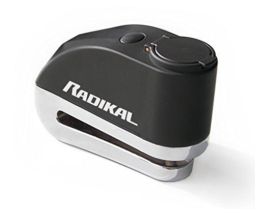 Radikal RK5 Candado Antirrobo Moto Disco Alarma 110 Db Universal Mochila regalo,...