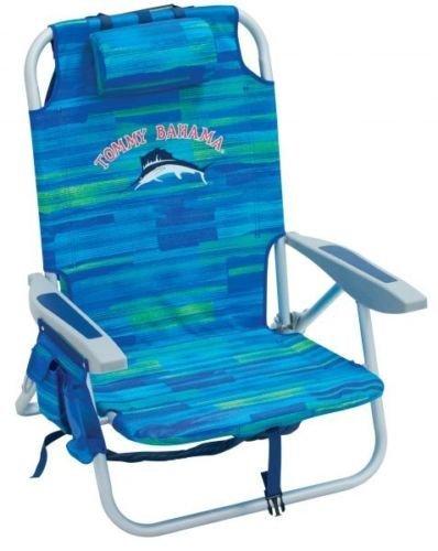 Sitz für den Strand-/ Garten Tommy Bahama faltet, mit Kühlschrank und Abteilung für Lagerung (Tommy Bahamas-strand-handtücher)