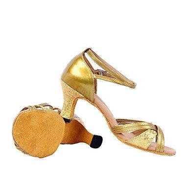 Scarpe da ballo latino Gold