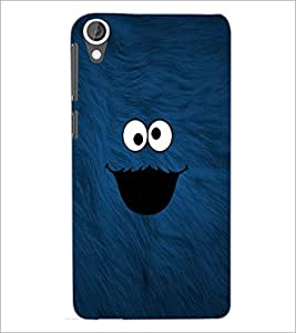 PrintDhaba cute smilie D-1141 Back Case Cover for HTC DESIRE 820 (Multi-Coloured)