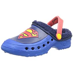 Superman boys kids clog...