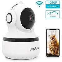 CACAGOO Security Camera, Baby Monitor WIFI IP Camera 1080P FHD Indoor Wireless Pet Camera