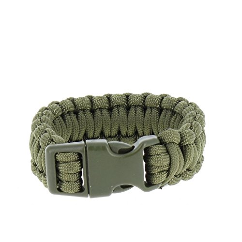 Bracelet Paracorde 2,2cm - MilTec - Vert - XL