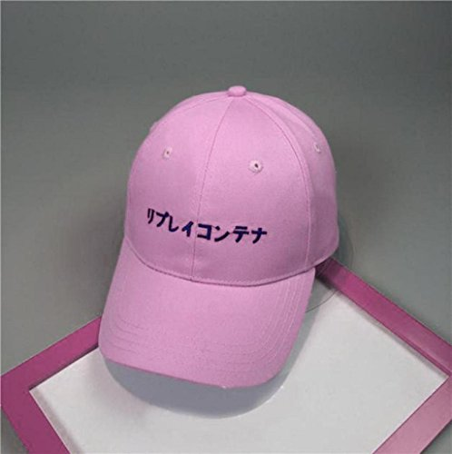 Imagen de gorros unisex, sannysis sombreros de caballero finger impress carta, rosa  alternativa