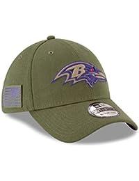 A NEW ERA ERA ERA Era Baltimore Ravens 39thirty Stretch Cap On Field 2018  Salute To d34a4f75d6f