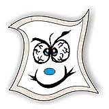 jeder-kann-basteln ♥ Sticker-Gesichter-grimmig ♥ Kleiner Preis! Lustige Aufkleber (Augen, Nase, Mund) für Kinder (groß)