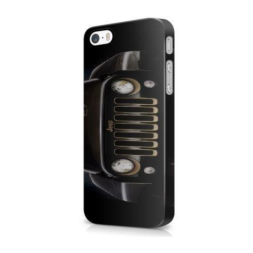 Générique Appel Téléphone coque pour iPhone 5 5s SE/3D Coque/JOHN DEERE LOGO/Uniquement pour iPhone 5 5s SE Coque/GODSGGH704556 JEEP LOGO - 024