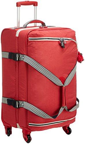 Kipling Cyrah M Equipaje de Mano, 69 cm, 71 litros, Rojo (Spicy Red Mix)