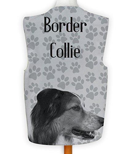 Kostüm Collie Border - NEUHEIT Weste Kostüm Spass Legere Hirnrissig Party Hund Anzeigen Border Collie - Mehrfarbig, S