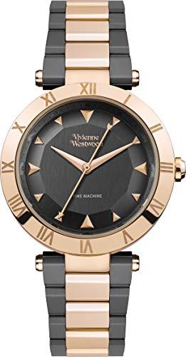 Montre Femme Vivienne Westwood Montagu Or Rose Gris VV206RSGN