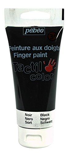 pebeo-633415-tacticolor-1-tube-gouache-aux-doigts-noir-80-ml