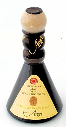Condimento alimentare a base di olio extravergine di oliva e tartufo bianco d'alba 100ml