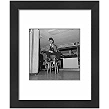 Framed 10x8 Print of Comedy - Dickie Henderson - London Airport (12293232)