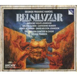 Haendel-Belshazzar,Oratorio-English Concert&Choir-T.Pinnock-