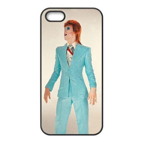 David Bowie coque iPhone 5 5S Housse téléphone Noir de couverture de cas coque EBDXJKNBO13431