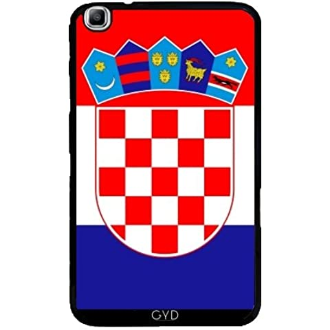 Funda para Samsung Galaxy Tab3 8.0 SM-T310 - La Bandera De Croacia by BruceStanfieldArtist