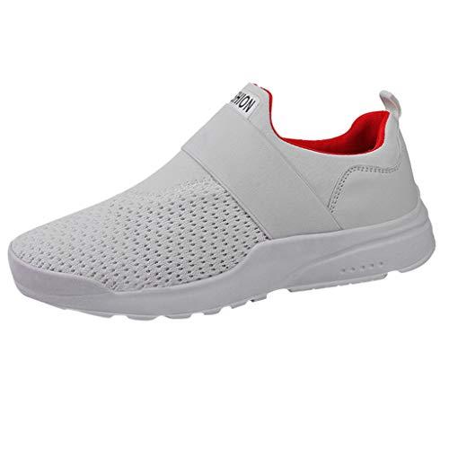 DAY.LIN schuhe herren Sportschuhe Herren Freizeit Mode Sneaker Laufschuhe Turnschuhe Leichte Bequeme Running für Männer Jungen Sport Gym Fitnessschuhe (Größe Kinder Schuhe 1 Jungen Vans)