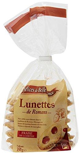 Les Délices de Belle-France Lunettes de Romans 350 g - Lot de 4
