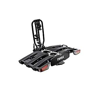 Thule EasyFold XT 3 Black Edition für bis zu 3 Fahrräder Fahrradträger für die Anhängekupplung