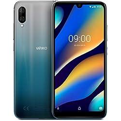 Wiko View3 Lite Smartphone débloqué 4G (Ecran 6, 09 Pouces - 32 Go - Double Nano-SIM + Micro SD - Android 9 Pie) Arctic Bleen